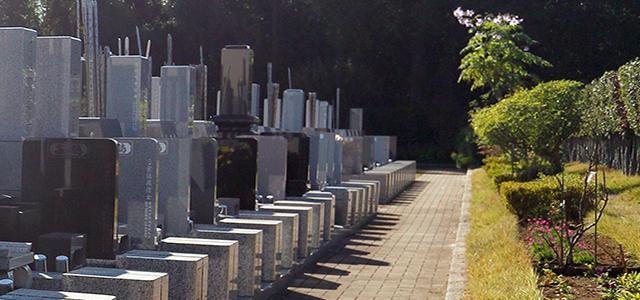 区画と墓石のご案内